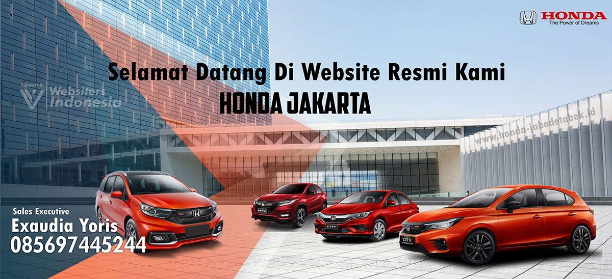 Banner Honda Jabodetabek by Websiters Indonesia