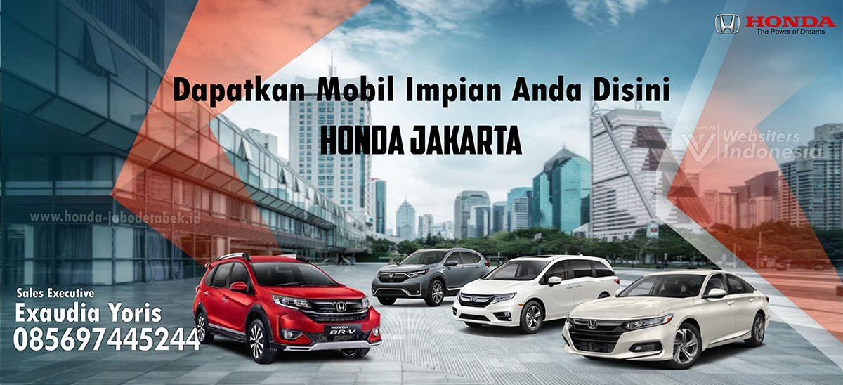 Slider Honda Jabodetabek by Websiters Indonesia
